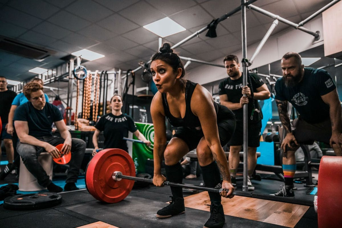 Poorna Bell weight lifting