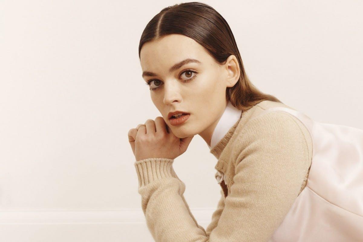 Actress Emma Mackey for Stylist