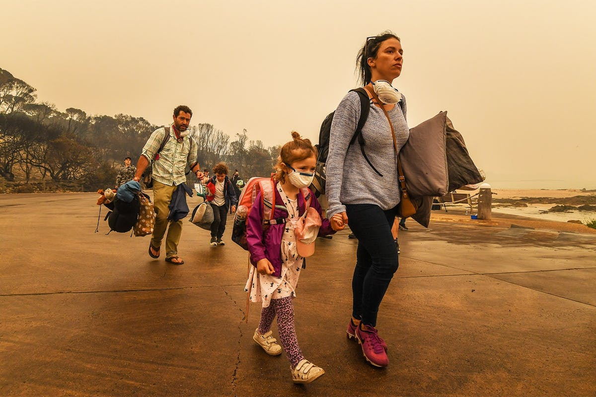 People affected by the Australian bushfires