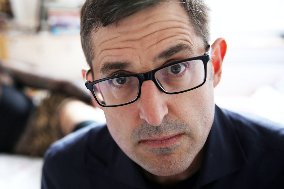 Louis Theroux Great British Bake Off
