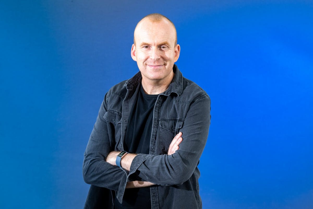 Author and mental health campaigner Matt Haig