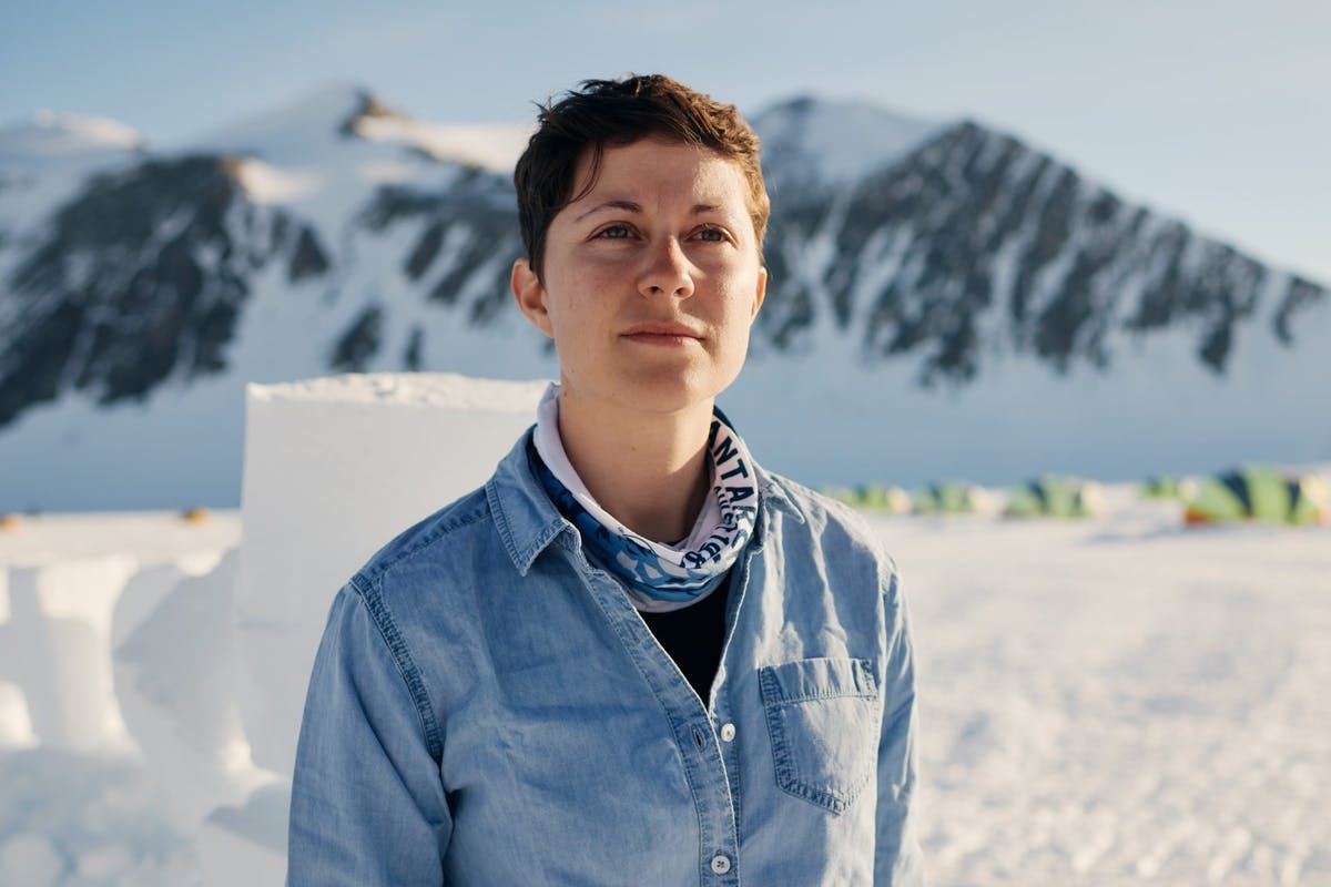 Kirstie Jones Williams, polar microplastics researcher