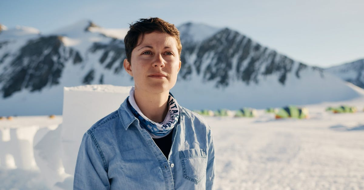 Meet the woman researching polar microplastics in Antarctica
