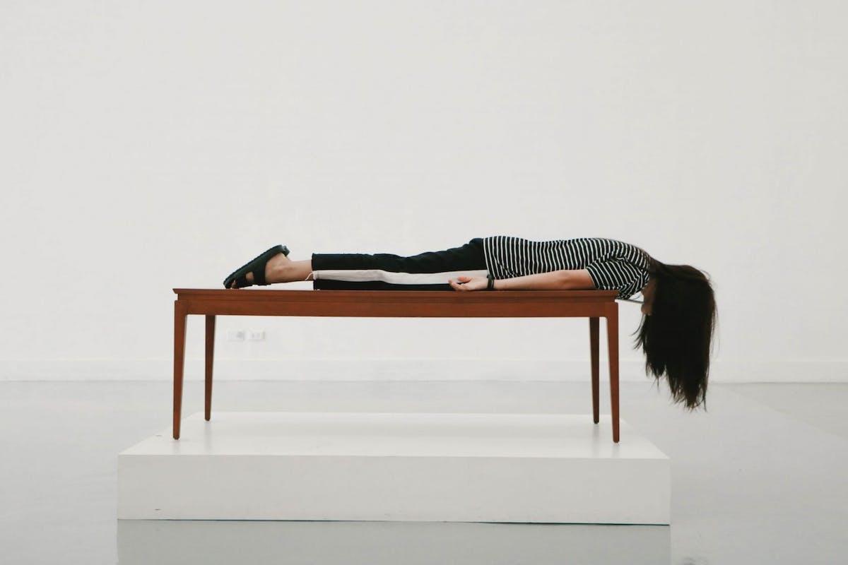 Insomnia sleeping woman