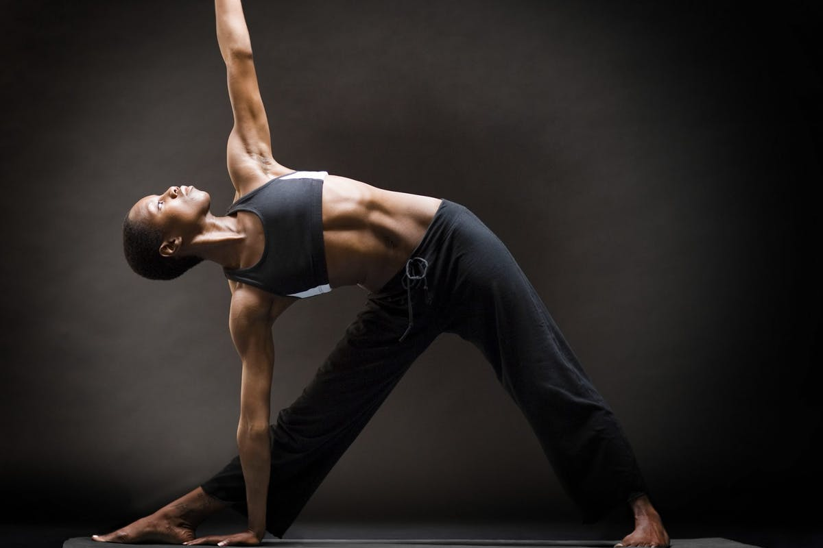 Strong women stretching classes