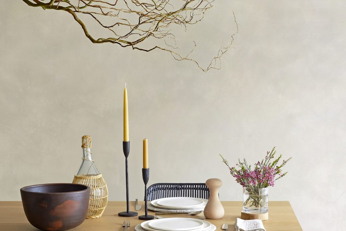 Oggetto Japans interior style table and chairs