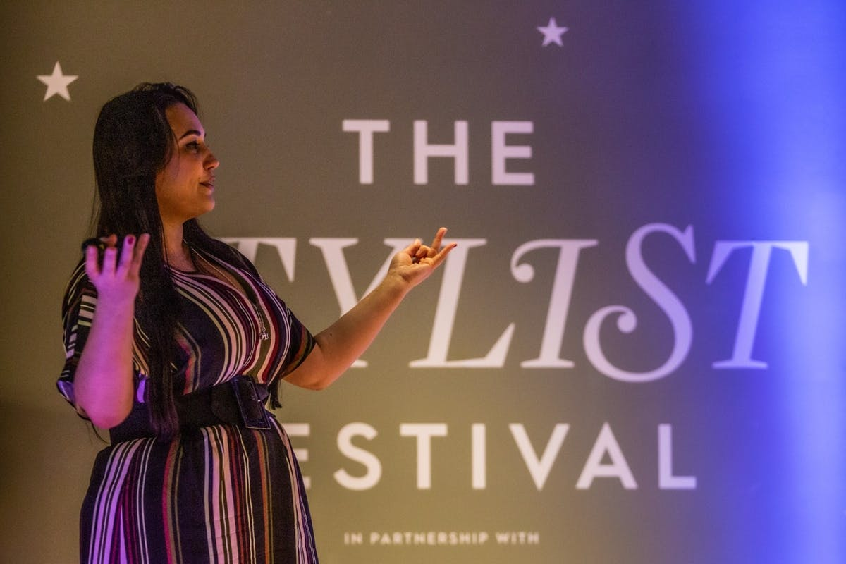 Hope Bastine on how nomophobia is affecting our sleep at Stylist's Restival.