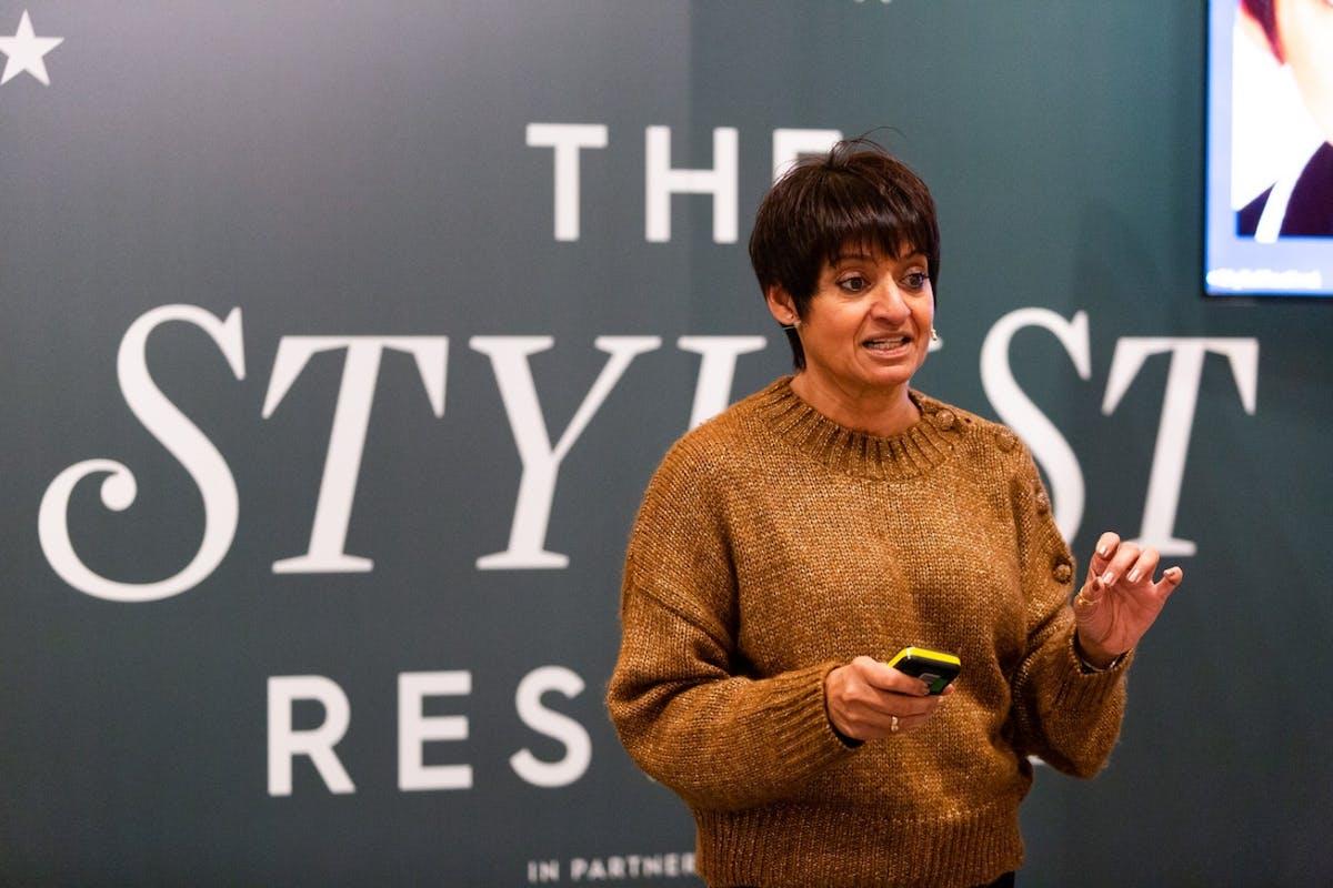 Dr Nerina Ramlakhan debunking sleep myths at Stylist's Restival.