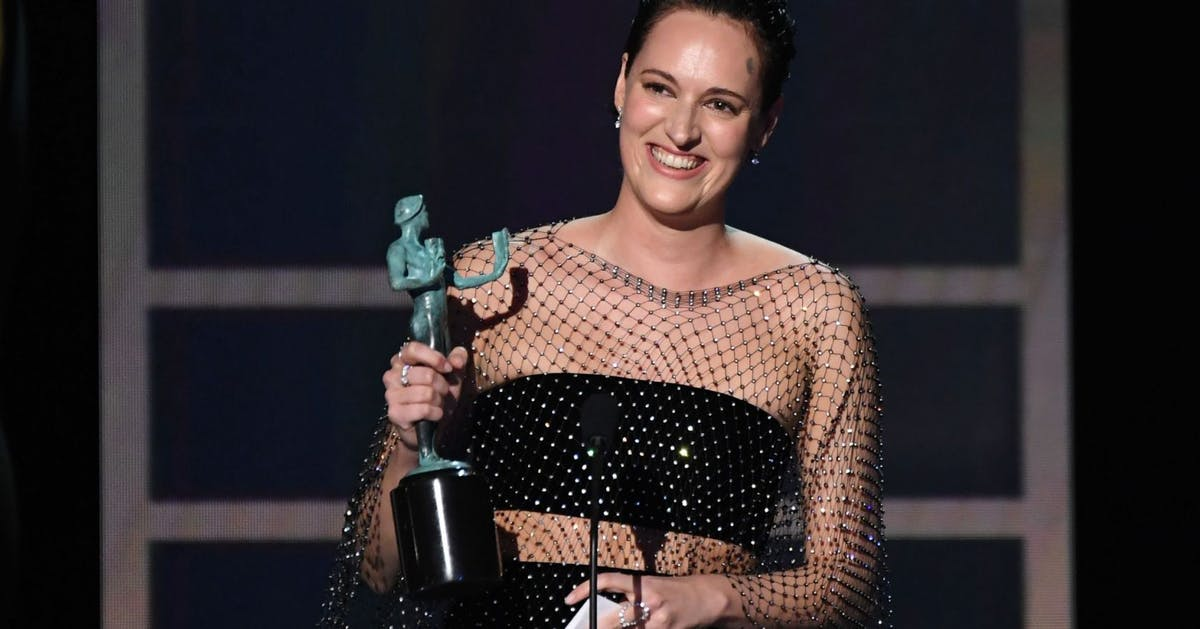 SAG Awards 2020: Phoebe Waller-Bridge just got emotional accepting her last award for Fleabag