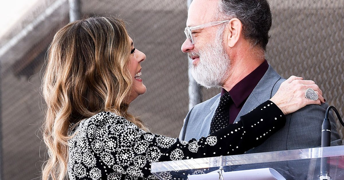Tom Hanks and Rita Wilson's idea of a date night deserves its own romantic comedy