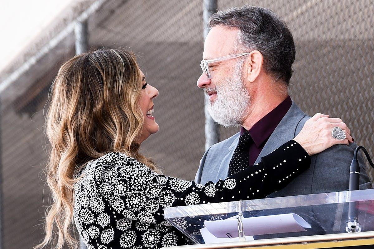 Rita Wilson and Tom Hanks test positive for coronavirus.
