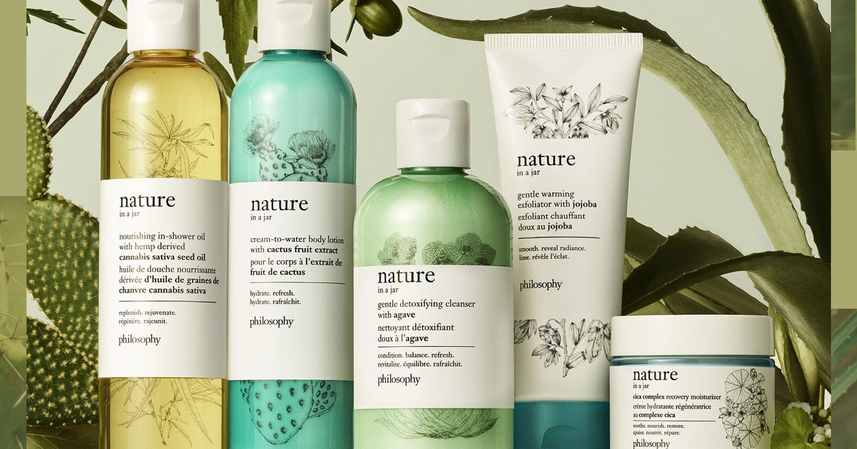 Win over £200 worth of philosophy's new Nature in a Jar range and a terrarium