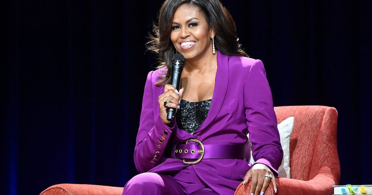 Michelle Obama's workout playlist is giving us the January motivation we needed