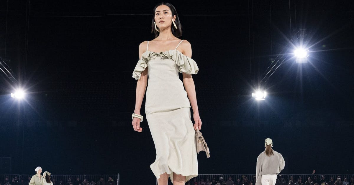 Jacquemus's latest show dictated the most exciting trends of the year