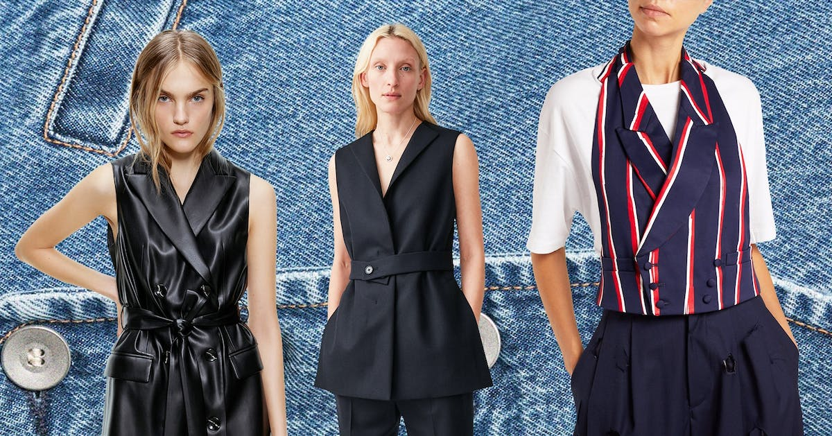 Women's waistcoats are this season's big trend. Here's where to buy yours