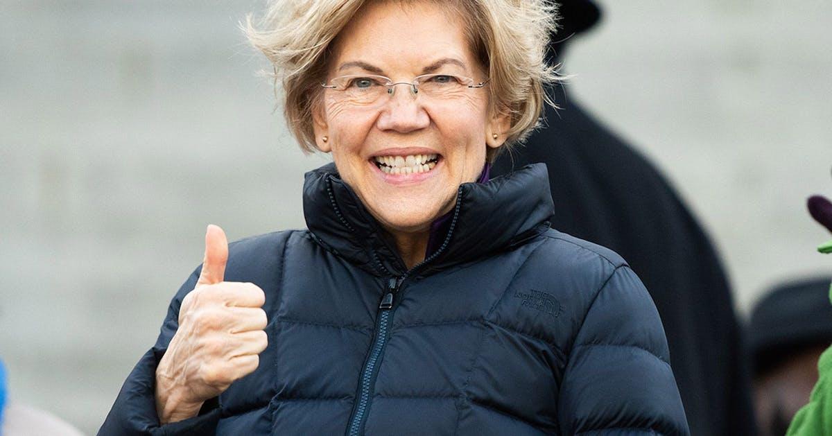 Elizabeth Warren pledges to appoint at least 50% women cabinet if she wins presidency