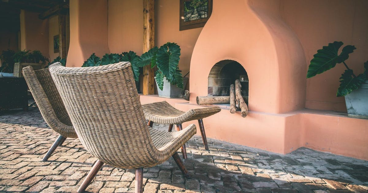 Rattan and wicker furniture pieces that nail 2020's big natural interiors trend