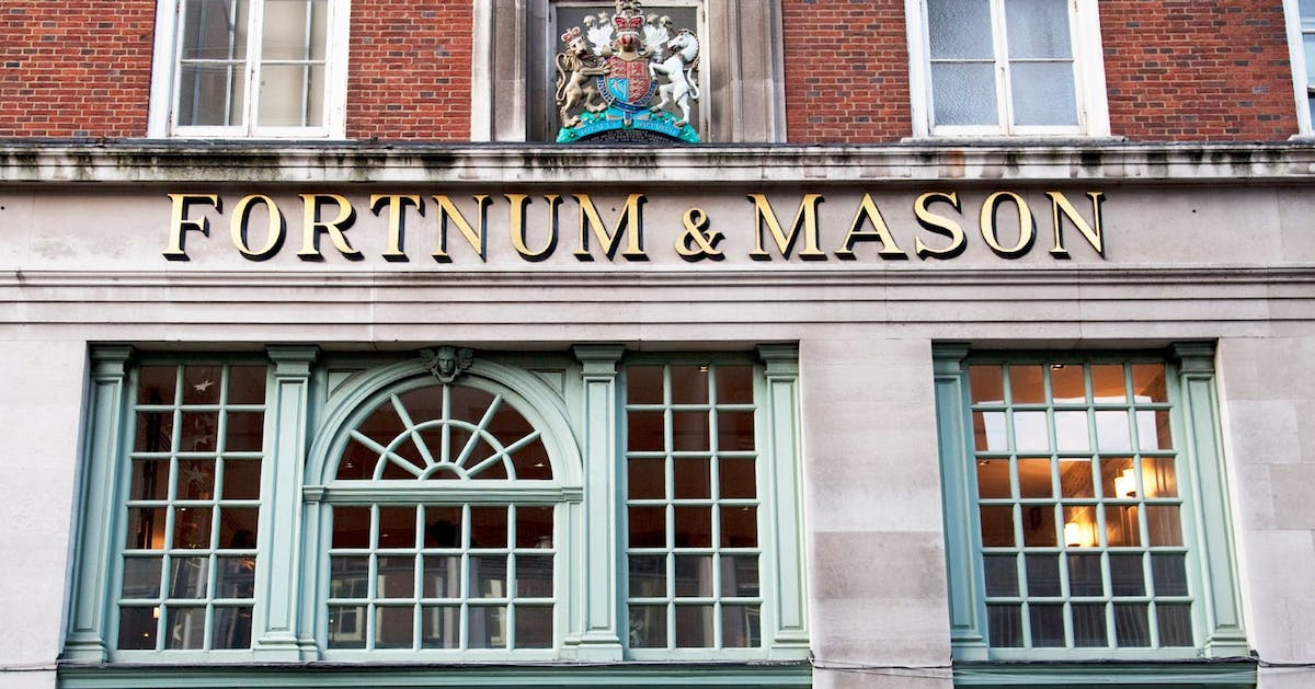 New London wedding venue alert: fancy getting married at Fortnum and Mason?