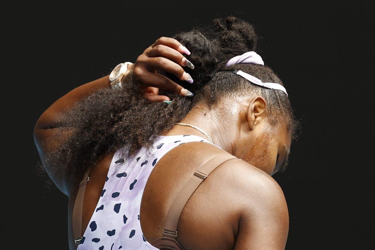 Serena Williams manicure.