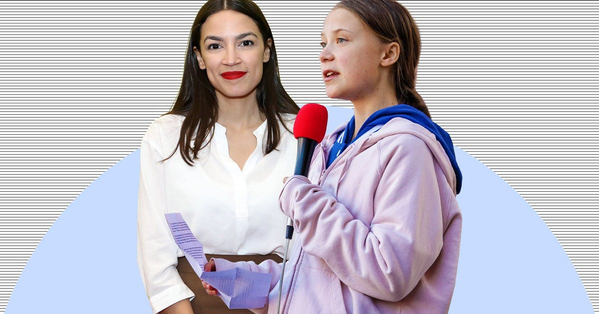 "Alexandria Ocasio-Cortez just offered Greta Thunberg some advice on ""haters"""