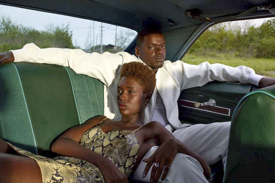 Daniel Kaluuya and Jodie Turner-Smith in Queen and Slim.