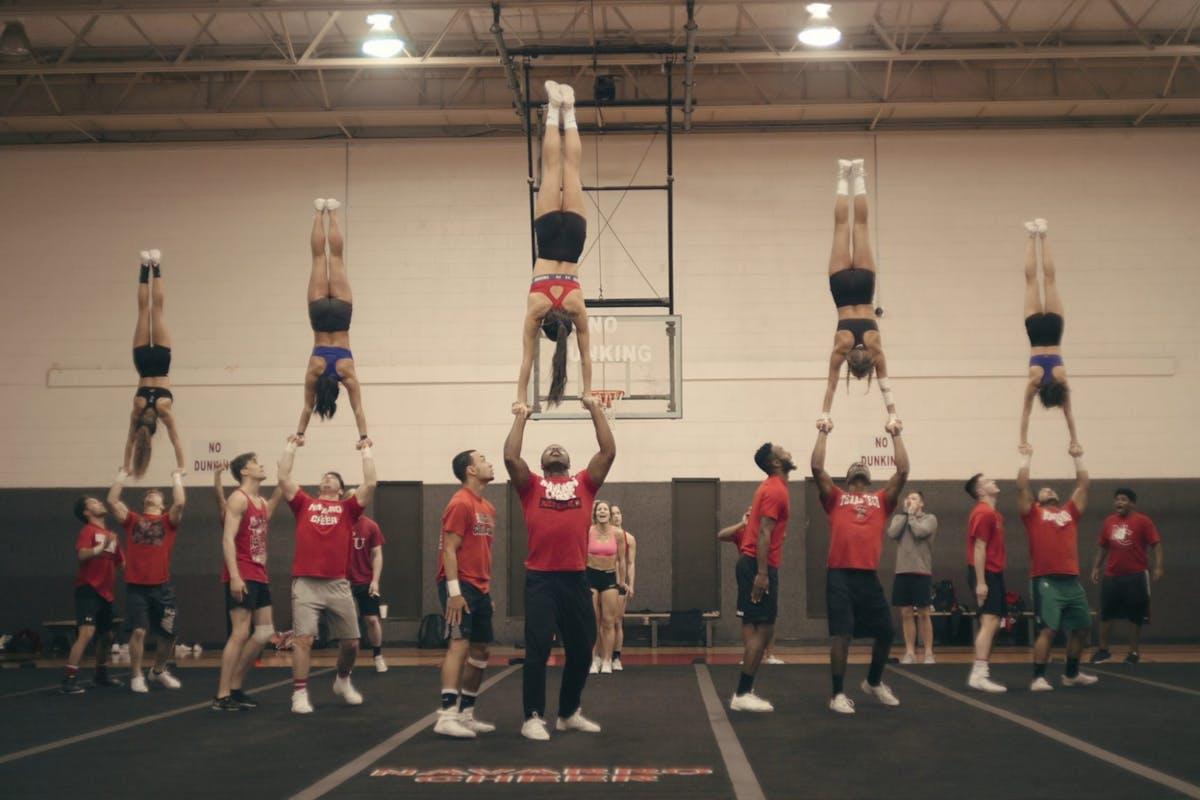 The Navarro Cheer team from Netflix's Cheer