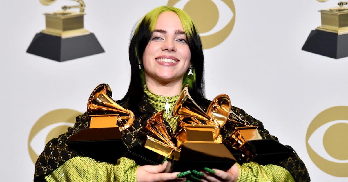 Grammys 2020: Billie Eilish makes history as the youngest winner in all four major categories