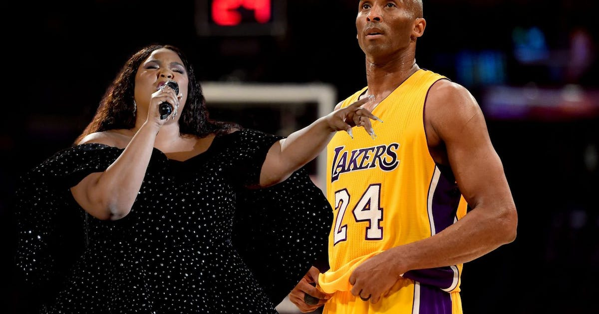 Lizzo's Grammy speech about Kobe Bryant perfectly sums up how so many of us are feeling