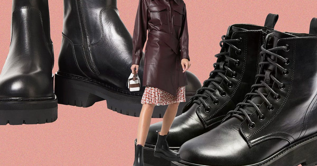 3 simple ways to add black boots to your wardrobe
