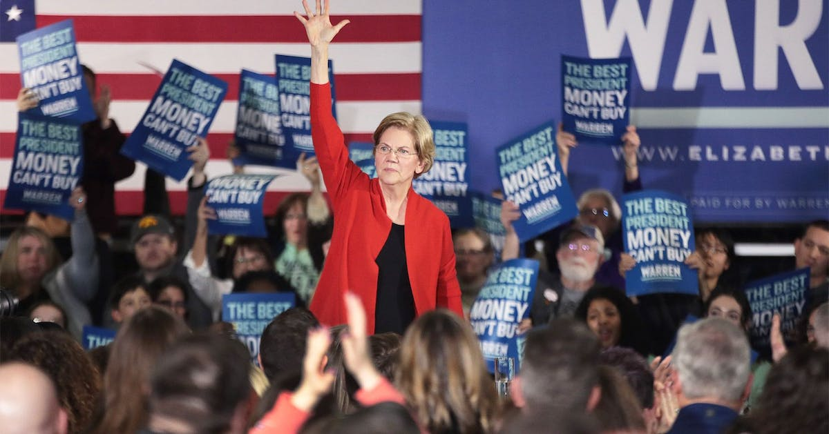 US Election 2020: Elizabeth Warren is here to convince you you're ready for a female president in 2020