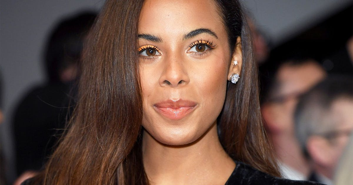 Rochelle Humes wore on-trend orange eyeliner at the NTAs. Here's the exact product she used