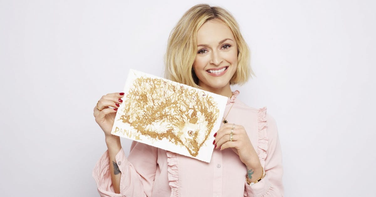 Fearne Cotton wants all of us to get in touch with our creative side. Here's why
