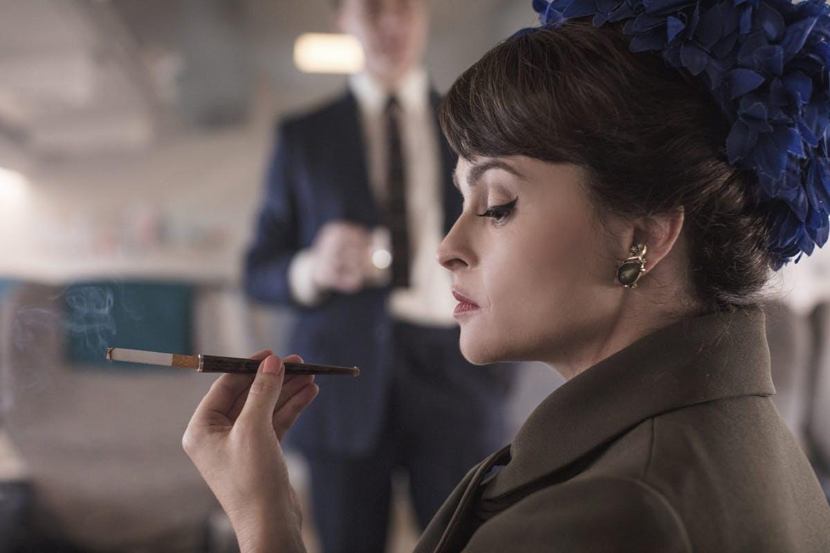 Helena Bonham Carter as Princess Margaret in The Crown on Netflix
