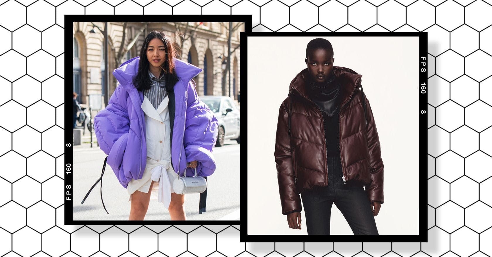 Puffer coats and jackets are back, it's time to get cosy