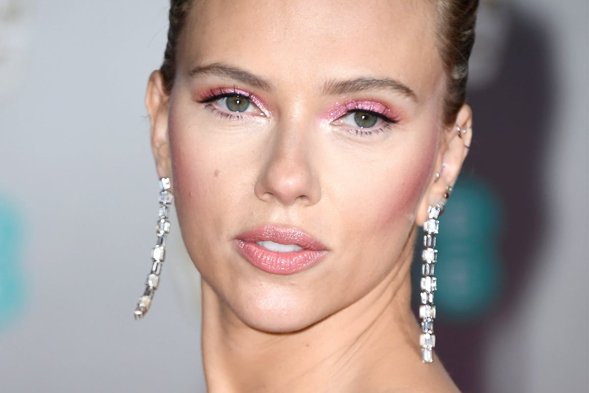 Scarlett Johansson Pink Eyeshadow BAFTA 2020