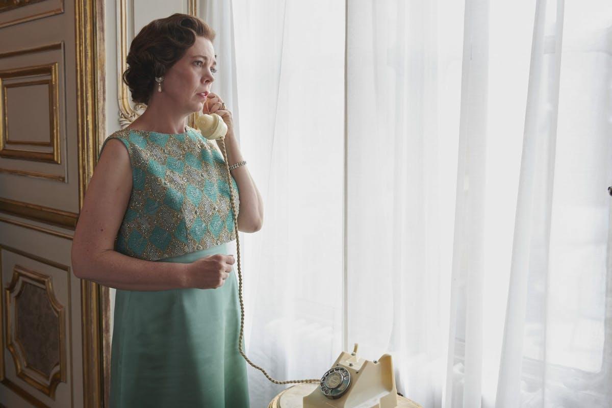 Olivia Colman as Queen Elizabeth II in Netflix's The Crown