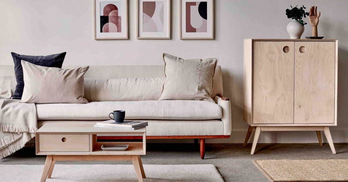 This furniture range is designed specifically for small spaces