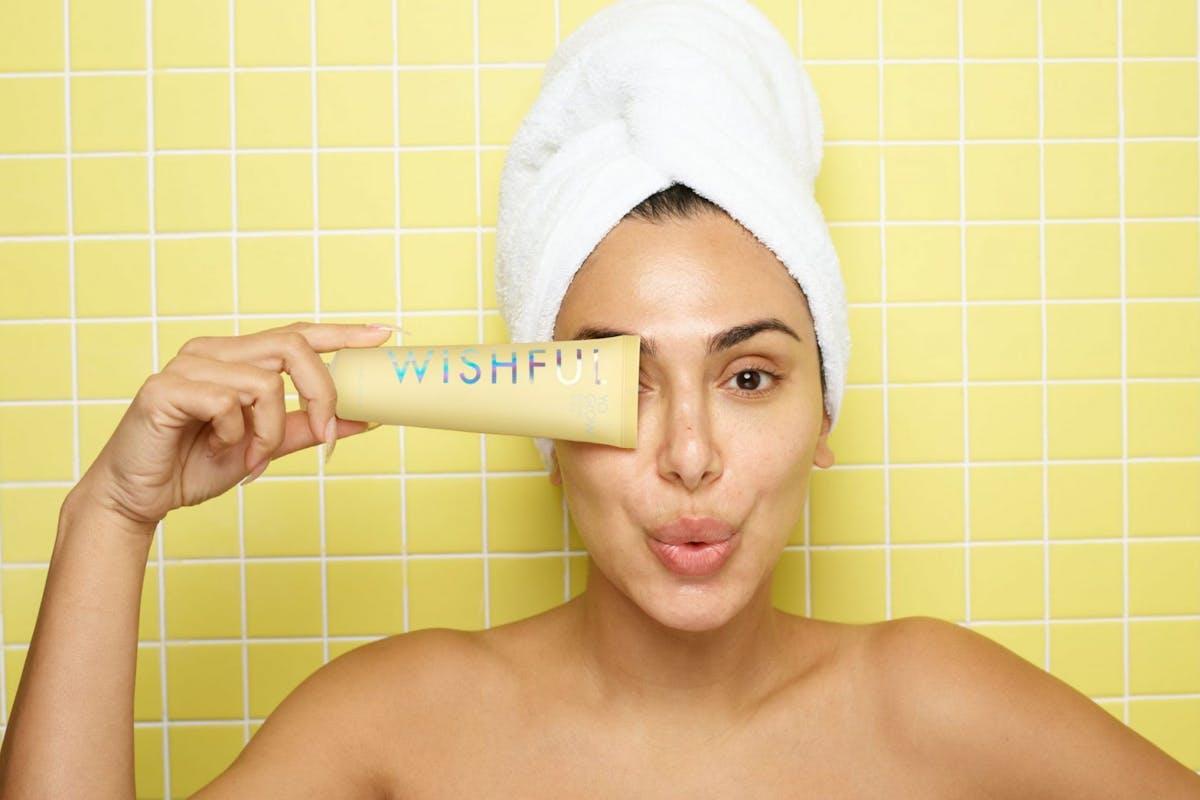 Huda Beauty Wishful Skincare Brand Scrub