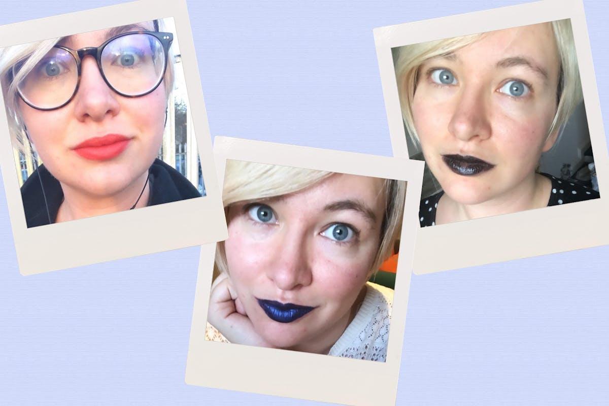 Kayleigh Dray trials 21 lipsticks