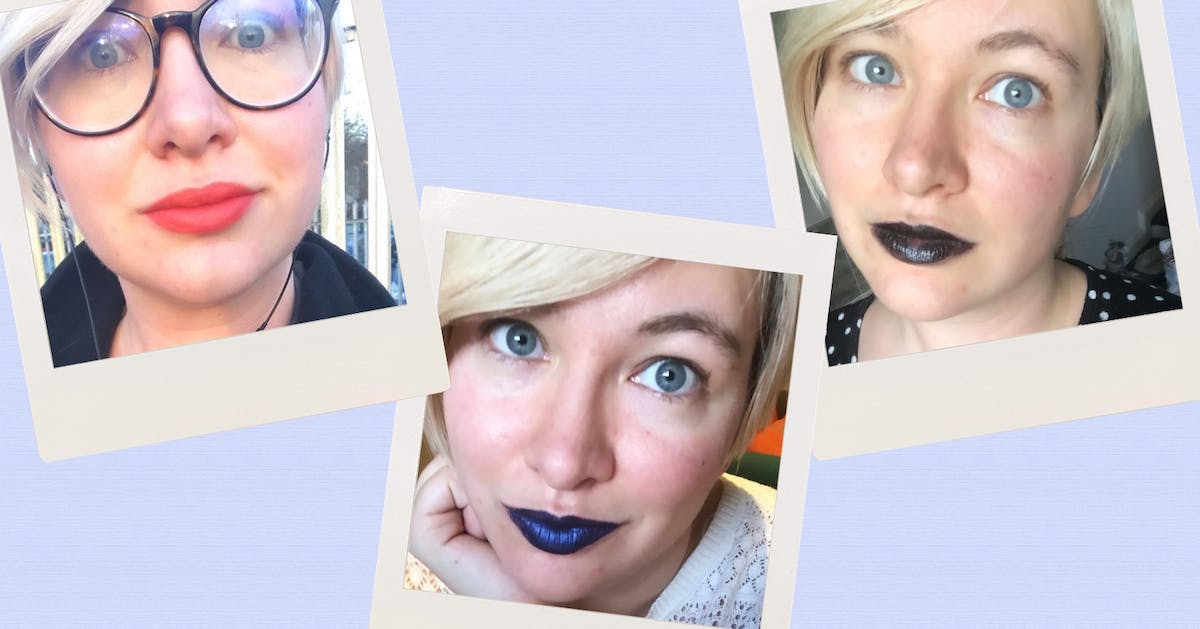 "Bright lipsticks: ""I wore 21 bold lip colours in 21 days, and this is what happened"""