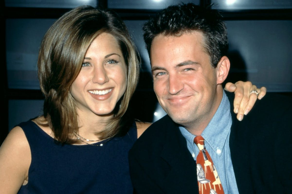 Jennifer Aniston welcomes Matthew Perry to Instagram.