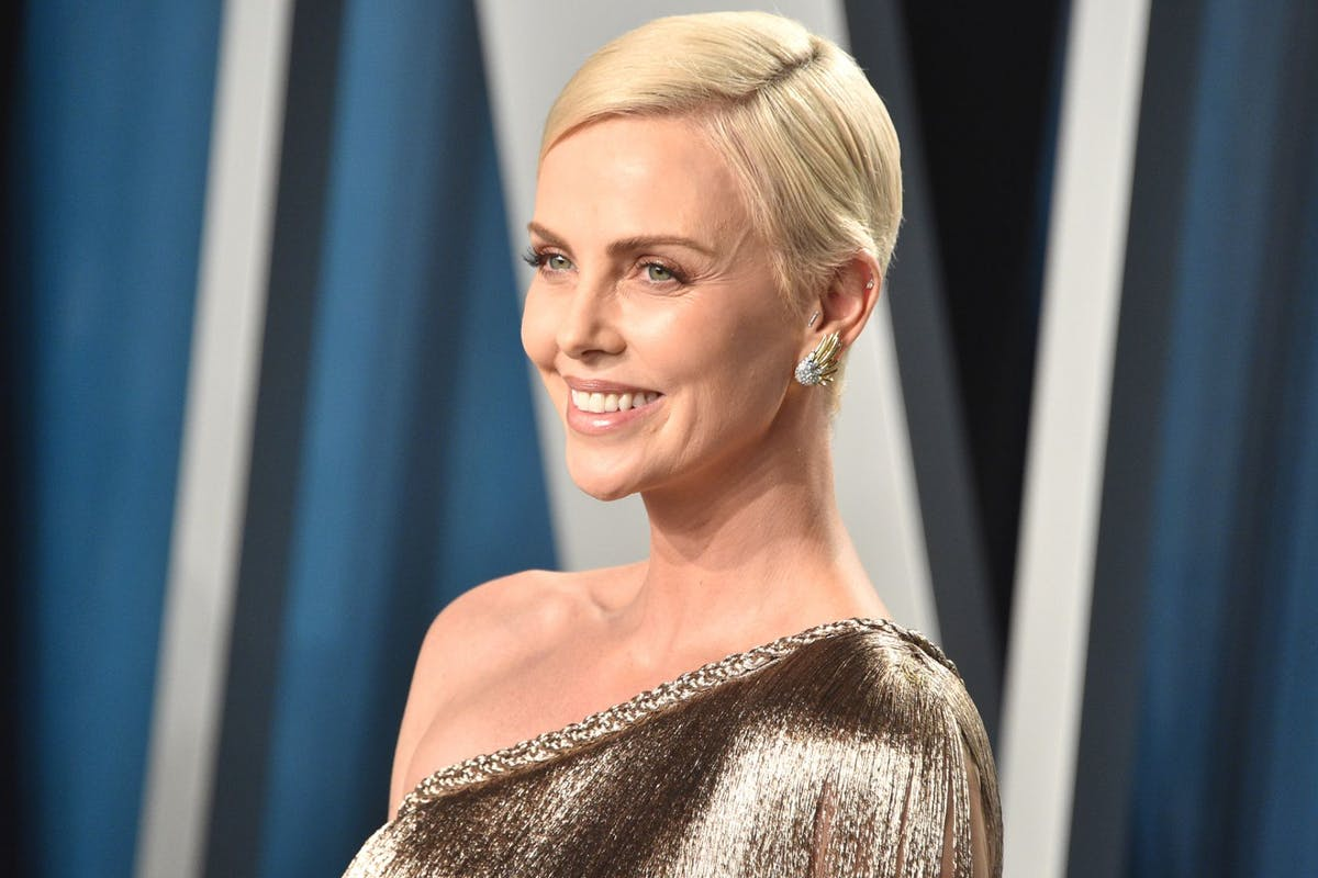 Charlize Theron at the 2020 Oscars