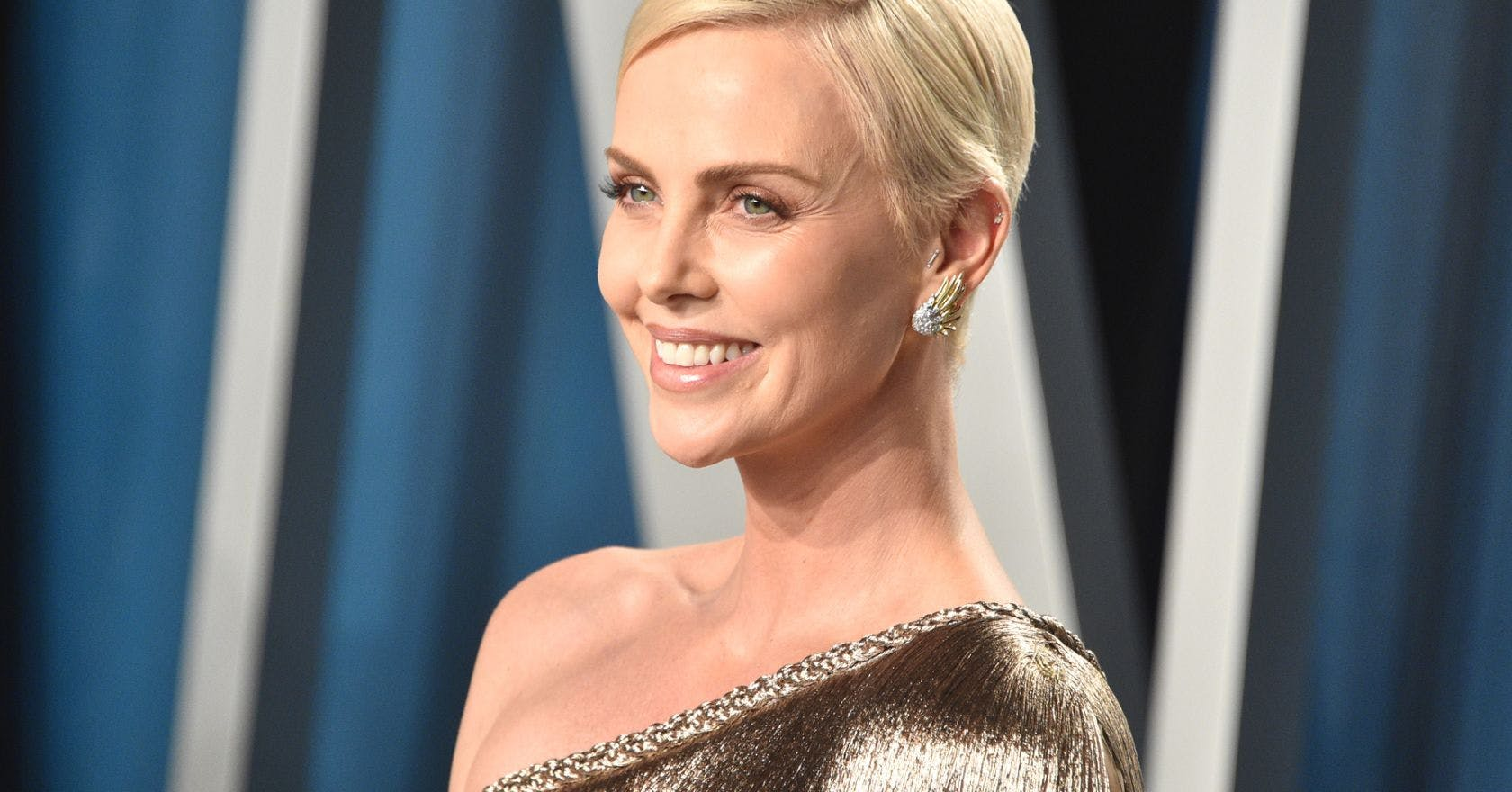 Charlize Theron's embellished hair at the Oscars is all about the subtle statement