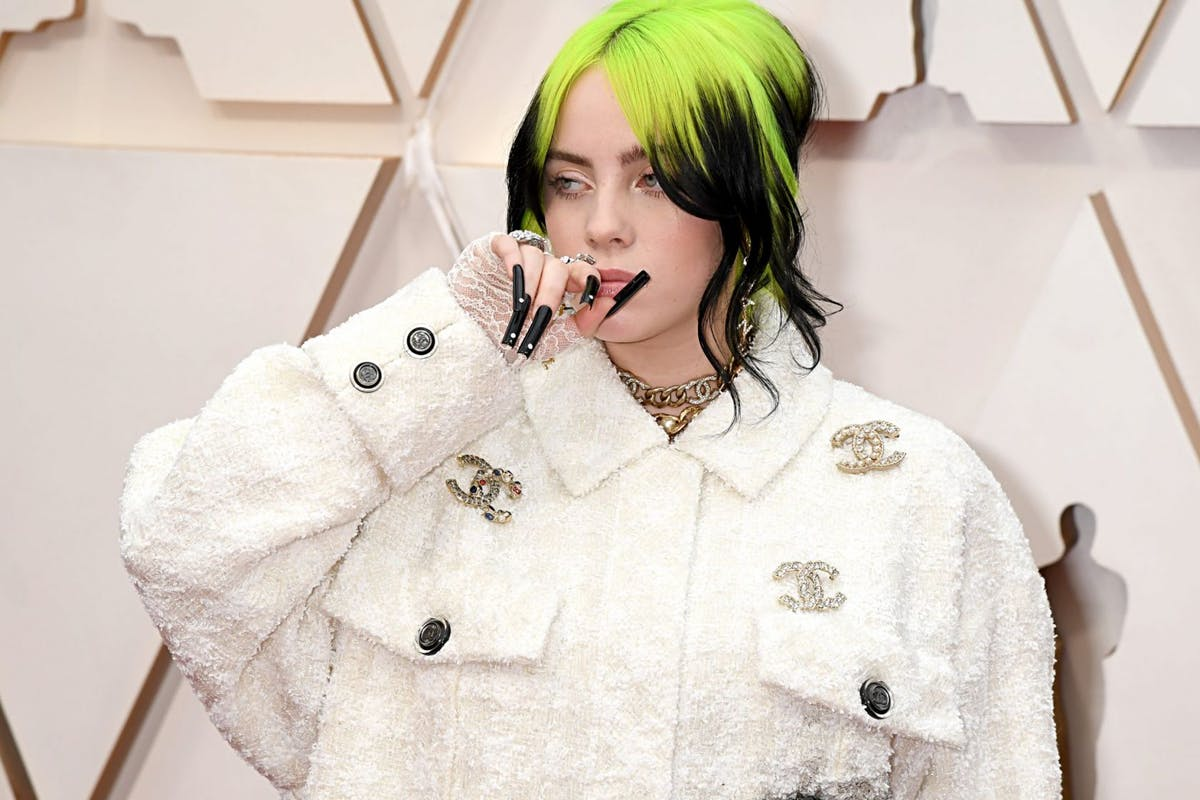 Billie Eilish attends the 92nd Annual Academy Awards at Hollywood and Highland on February 09, 2020 in Hollywood, California. (Photo by Jeff Kravitz/FilmMagic)