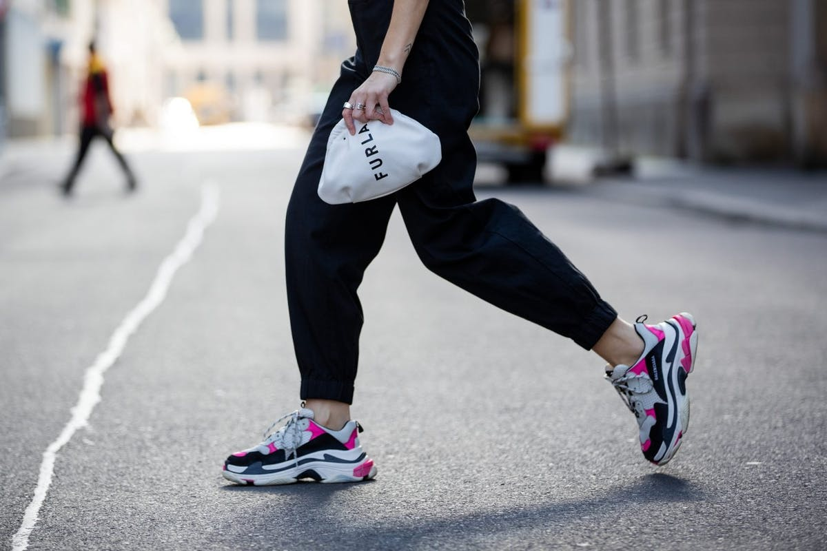 Street style trainers