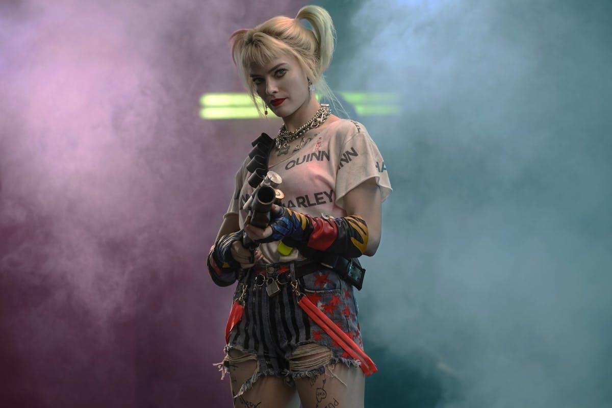 Birds of Prey 2020: Margot Robbie as Harley Quinn
