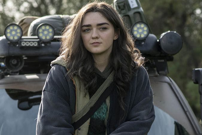 Maisie Williams stars in Two Weeks to Live.