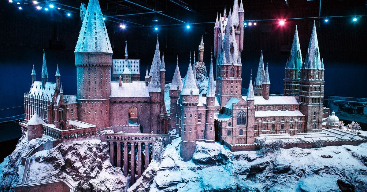 You can wander down a snowy Diagon Alley at the Harry Potter studios this Christmas
