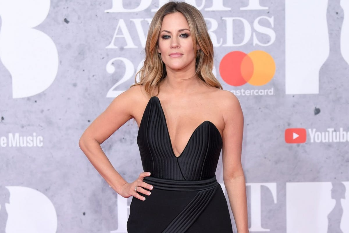 Caroline Flack attends The BRIT Awards 2019 held at The O2 Arena on February 20, 2019 in London, England. (Photo by Karwai Tang/WireImage)
