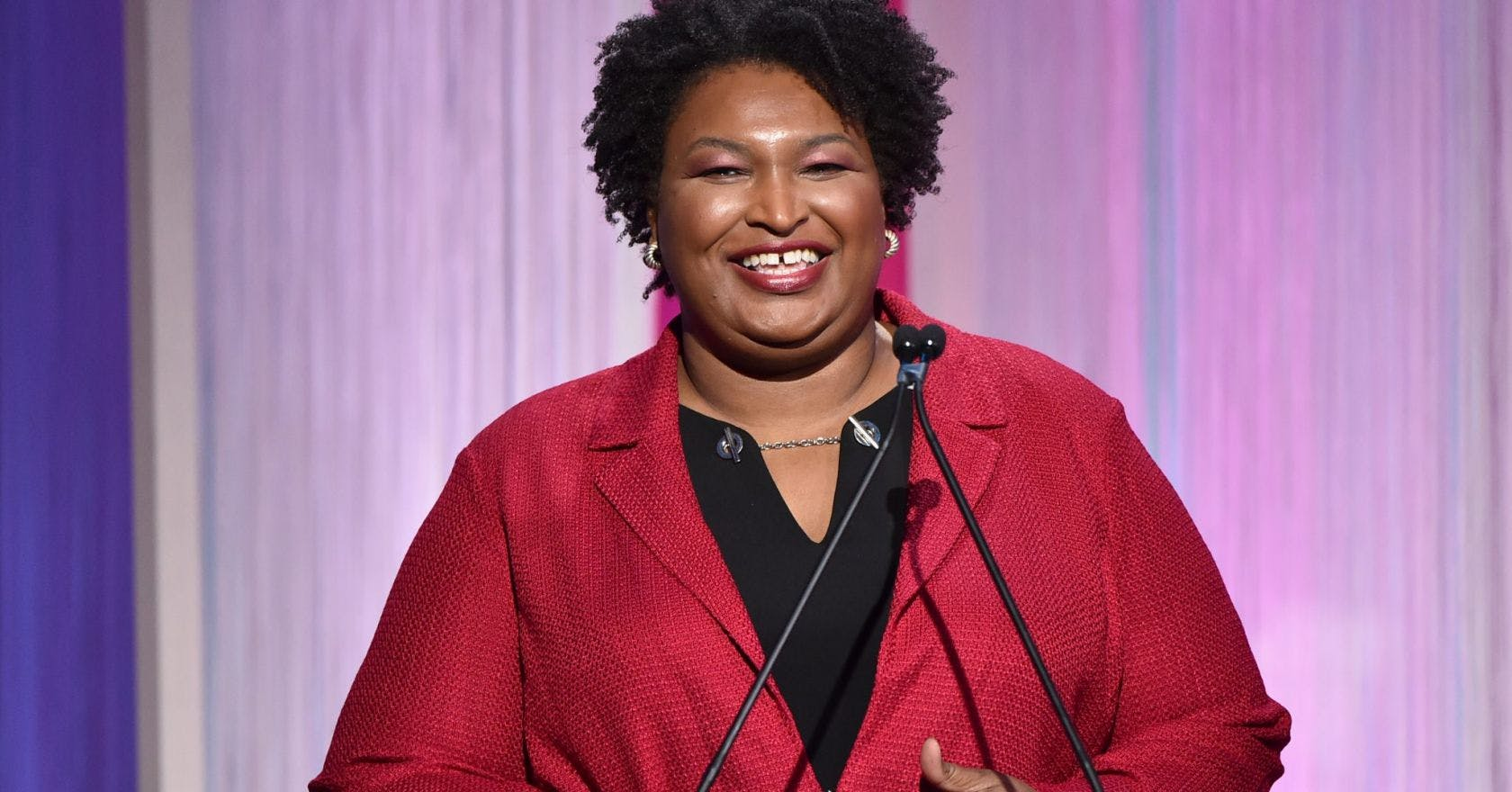 Yes, you're damn right Stacey Abrams wants to be vice president